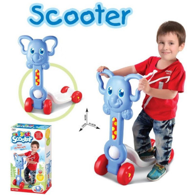SCOOTER ANIMALES - ELEFANTE