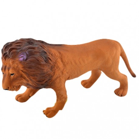 FIGURA ANIMAL SALVAJE CON SONIDO - LEÓN de la categoría Figuras de Acción