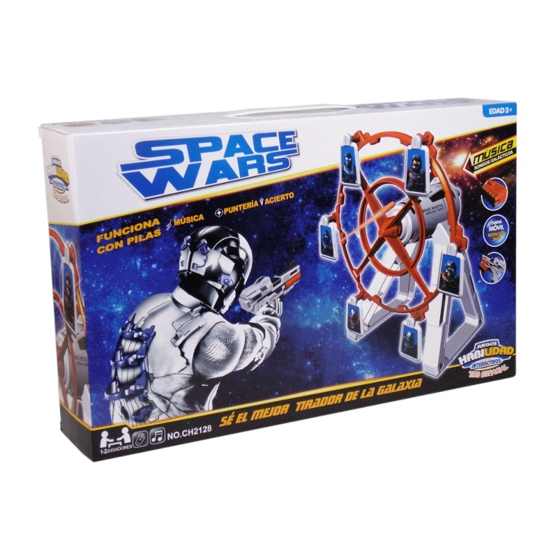SPACE WARS TIRO ESPACIAL DIANA GIRATORIA