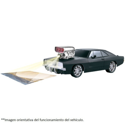 GRAN BÓLIDO RADIOCONTROL 4D PROYECCIÓN - NARANJA