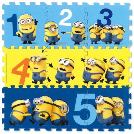 PUZZLE FOAM MINIOMS 89x89CM de la categoría Puzzles