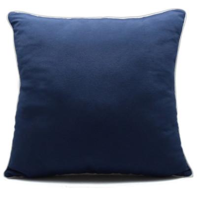 COJIN RELLENO LONETA 60X60CM AZUL MARINO de la categoría Decoración Textil