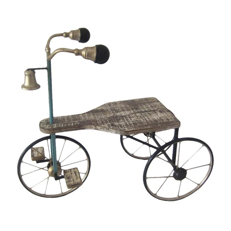 Bicicleta macetero forja 53x26x45cm tiendas mgi - Bicicleta macetero ...