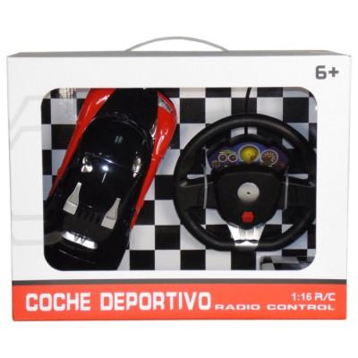 COCHE DEPORTIVO RADIOCONTROL 1:16 de la categoría Radiocontrol