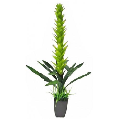 PLANTA ARTIFICIAL EN MACETA TROPICAL VERDE de la categoría Plantas Artificiales