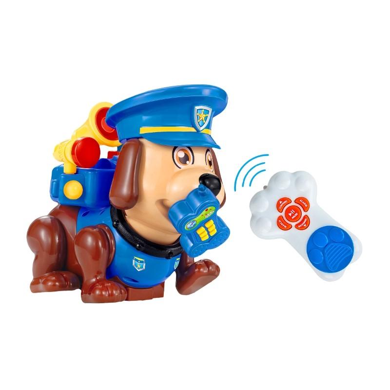 PERRITO INTERACTIVO RADIOCONTROL - SÚPER TOM POLICÍA