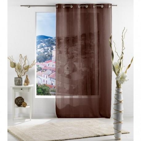 CORTINA SALINA CHOCO 140x240CM de la categoría Decoración Textil