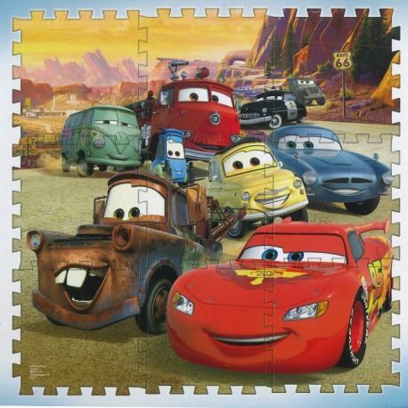 PUZZLE FOAM 9 PIEZAS CARS