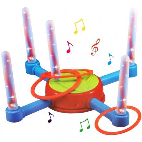 JUEGO DE ANILLAS MUSICALES CON LUCES Y MÚSICA de la categoría Juegos