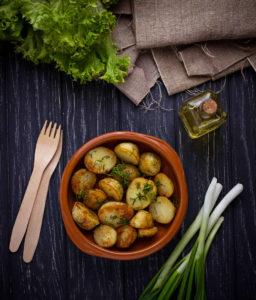 Patatas con Olla Eléctrica Cocción Lenta