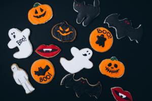 Planes para hacer en halloween galletas