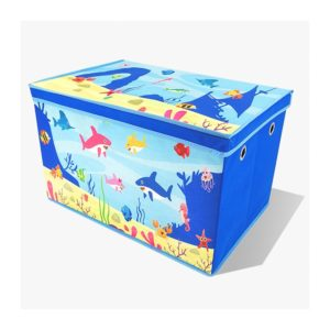 caja-para-guardar-juguetes-baul-azul