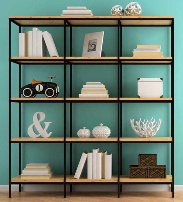 decorar estanterías ideas