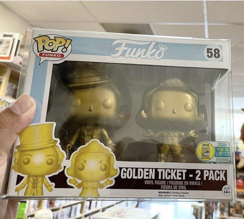funko pop golden ticket