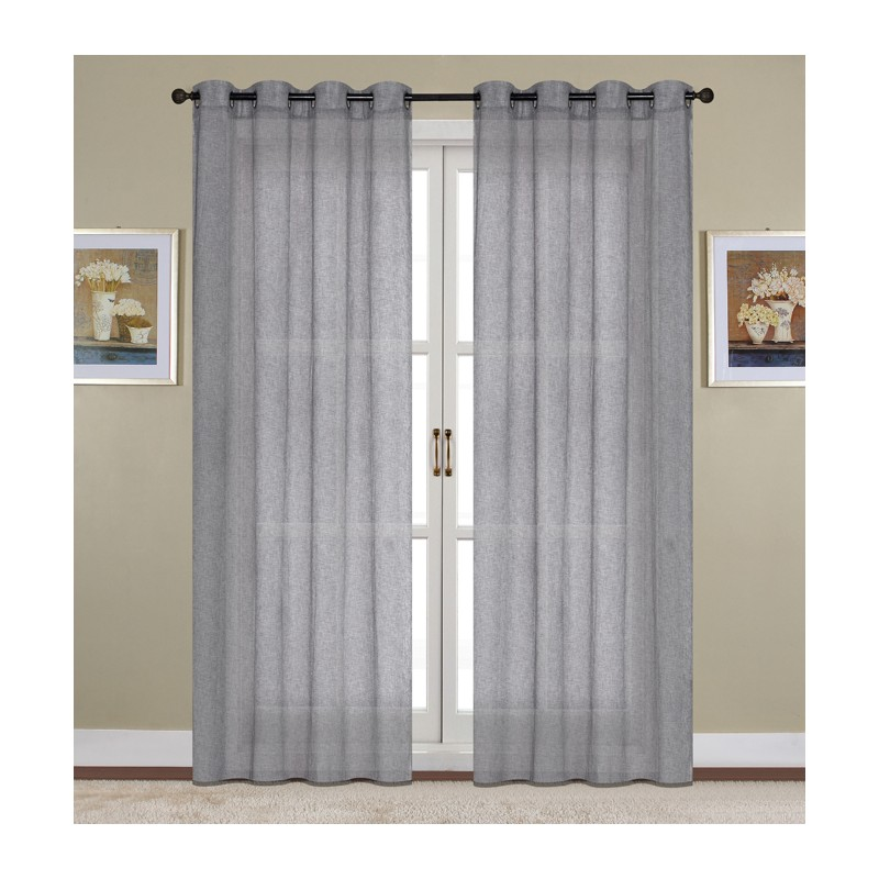 como decorar el salon con cortinas